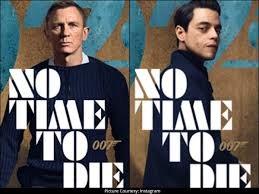 Daniel Craig suits up for 25th James Bond thriller 'No Time to Die'